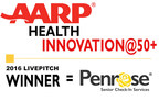 Penrose Wins AARP Health Innovation@50+ Best New Start-up Competition.