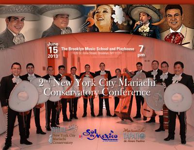 2nd New York City Mariachi Conservatory Conference.  (PRNewsFoto/New York City Mariachi Conservatory)