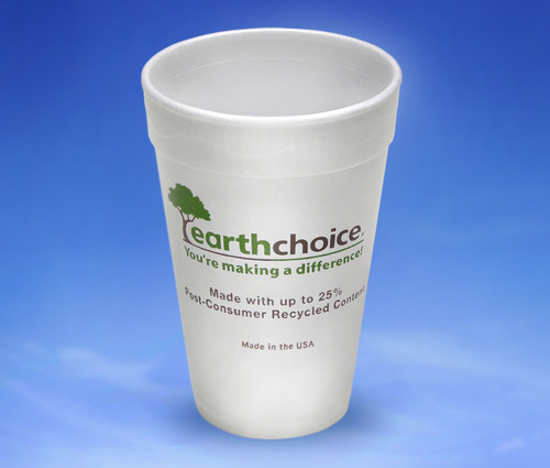 Pactiv Launches New EarthChoice(R) Foam Cup Made With Up To 25 Percent Post-Consumer Recycled Content. (PRNewsFoto/Pactiv LLC) (PRNewsFoto/PACTIV LLC)