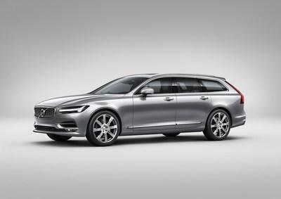 The new Volvo V90. Redefining the European Estate. (PRNewsFoto/Volvo Car Group)