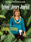 School Library Journal September 2014 issue, featuring inaugural School Librarian of the Year Michelle Colte of Hale Kula Elementary School in Wahiawa, HI. Award Sponsored by Scholastic Library Publishing. Photo by Dana Edmunds. (PRNewsFoto/Scholastic)
