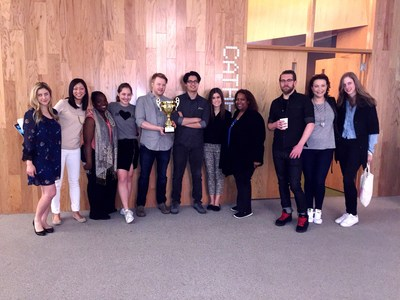 J. Walter Thompson with the March ADness 2016 Goblet for Good.