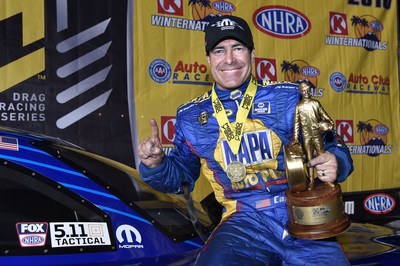 Ron Capps drives DSR Dodge Charger to Winternationals win in NHRA season opener
