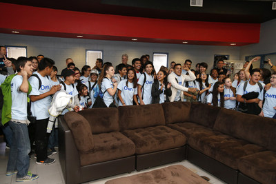 More than 100 Keystone Club members of the Barker Branch Boys & Girls Clubs of Greater Scottsdale were surprised with a new theatre room remodeled by Aaron's, Inc. (NYSE: AAN) associates on Friday, January 8, 2016, in Scottsdale, Arizona. In addition, Aaron's donated electronics, furniture, appliances, TVs and game systems and painted the Keystone Club kitchen, lounge, entertainment and study rooms for the teens. Keystone is Boys & Girls Clubs of America's premier teen leadership program which helps...