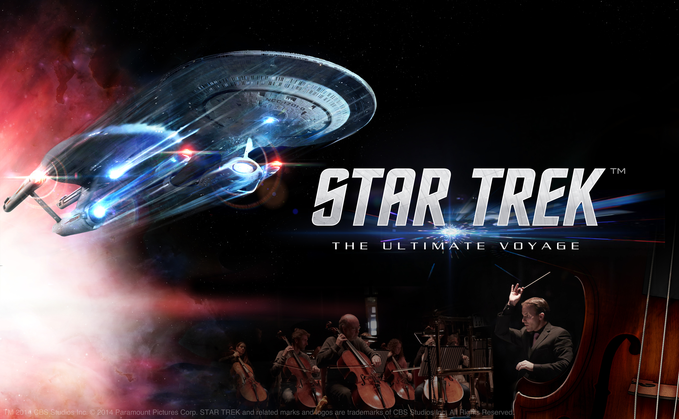 Star Trek: The Ultimate Voyage - North American Tour begins January 2016