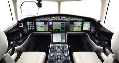 Honeywell collaborated with Dassault to create the EASy III flight deck in Dassault's Falcon 5X