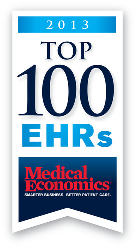 ADS is Recognized as a Medical Economics Top 100 EHR Vendor.  (PRNewsFoto/Advanced Data Systems)