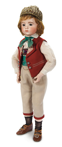 Antique doll made by sculptor Albert Marque sells for _300_000 and sets new world auction record_ ...