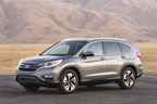 Honda breaks multiple November sales records. The new 2015 CR-V plays a major role.