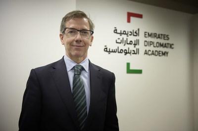 Emirates Diplomatic Academy appoints top UN diplomat Bernardino Leon Gross as its first Director General (PRNewsFoto/Emirates Diplomatic Academy)