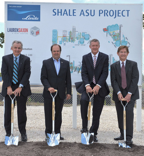 Linde breaks ground for a state-of-the-art air separation unit (ASU) in Texas