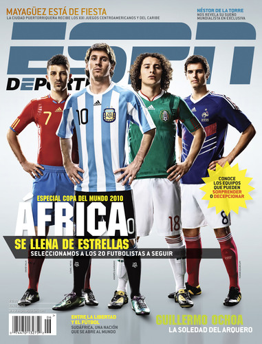 ESPN Deportes Kicks off Coverage of the 2010 FIFA World Cup