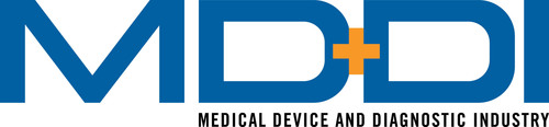 MD+DI, The Global MedTech Authority, Announces 2013 Medical Device Manufacturer of the Year.  (PRNewsFoto/UBM Canon)