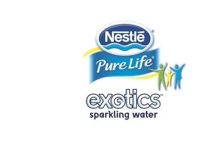 Nestle Pure Life Exotics Sparkling Water. (PRNewsFoto/Nestle Waters North America)