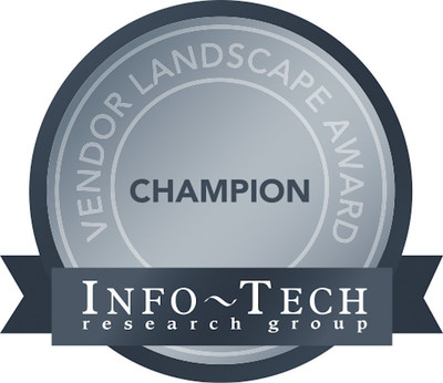 WatchGuard Technologies is Champion, Trendsetter and Value winner in clean sweep of InfoTech NGFW Vendor Landscape Report. (PRNewsFoto/WatchGuard Technologies, Inc.)