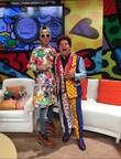 Romero Britto and Edy Smol