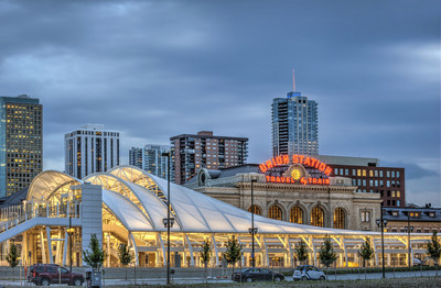Denver Union Station is officially open featuring transit, restaurants, retail and The Crawford Hotel. (PRNewsFoto/Denver Union Station) (PRNewsFoto/Denver Union Station)
