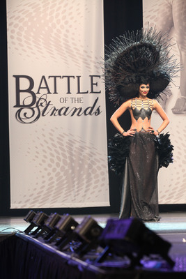 """Battle of the Strands Commemorates a Third Season as """"the Project Runway of Hair Stylists"""" in Las Vegas, Nevada on Monday, October 14th, 2013.  (PRNewsFoto/Battle of the Strands)"""