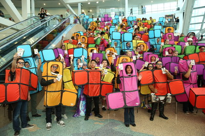 Tetris Attempts New World Record at Stan Lee's Comikaze Expo