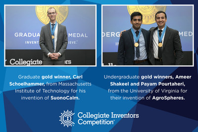 2016 Graduate and Undergraduate Collegiate Inventors Competition Winners
