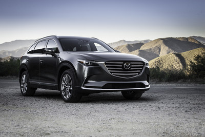 2016 Mazda CX-9 Priced from $31,520 MSRP, Elevates Midsize, Three-Row Crossover Experience
