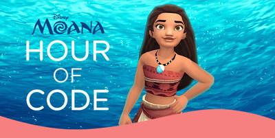 Disney Moana Hour of Code Tutorial