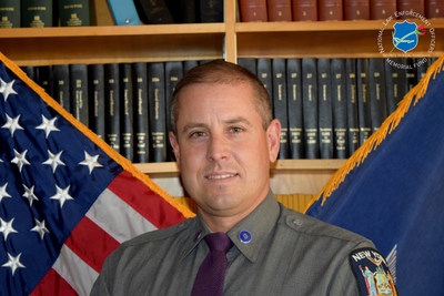 The National Law Enforcement Officers Memorial Fund has selected Sergeant Jay Cook, of the New York State Police, as the recipient of its Officer of the Month Award for November 2015.