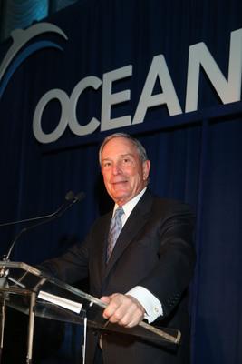 Michael R. Bloomberg.  (PRNewsFoto/Oceana)