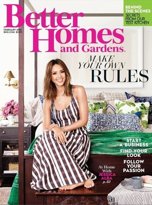 Better Homes and Gardens February Issue Reveals New Look