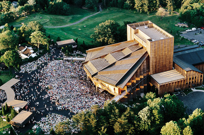 Filene Center at Wolf Trap National Park for the Performing Arts.  (PRNewsFoto/Wolf Trap Foundation for the Performing Arts)