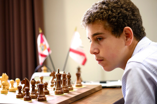 International Master Daniel Naroditsky, age 17, went undefeated through nine rounds to win the 2013 U.S. Junior Closed Chess Championship. The tournament was held at the Chess Club and Scholastic Center of Saint Louis from June 13 - 23.  (PRNewsFoto/The Chess Club and Scholastic Center of Saint Louis)