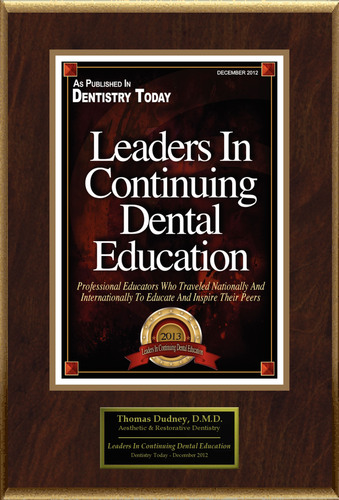 Thomas Dudney Selected For 'Leaders In Continuing Dental Education'