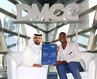 Kobe Bryant's 1st visit to Dubai hosted by DMCC's Ahmed Bin Sulayem