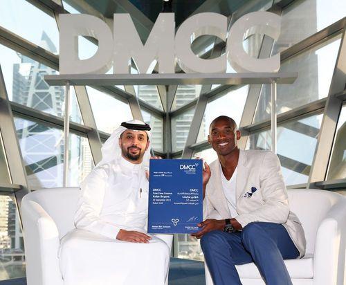 Kobe Bryant erhält DMCC-Handelslizenz für Geschäftstätigkeit in Dubai