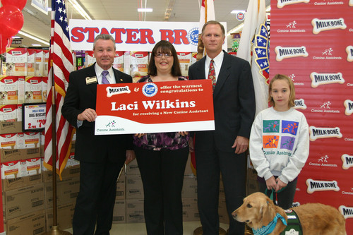 Stater Bros. Supermarkets and Milk-Bone Provide Free Canine Assistants Service Dog to Palm Desert