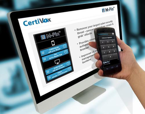 M-Pin Strong Authentication Platform.  (PRNewsFoto/CertiVox)