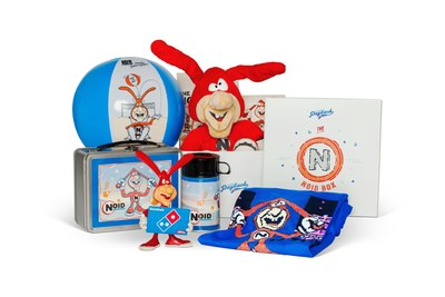 Domino's customers can visit pizzapayback.com for a chance to win a variety of prizes, including a Noid gift box.