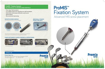 ProMIS(TM) Fixation System with Advanced MIS screw placement