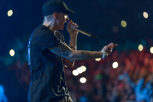 Eminem And Rihanna Announce The Monster Tour.  (PRNewsFoto/Interscope Records)