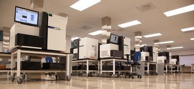Human Longevity, Inc.'s DNA Sequencing Facility