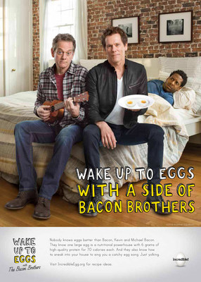 "America's egg farmers are teaming up with the Bacon Brothers to wake people up to the benefits of eating eggs for breakfast.The brothers have written and produced an original song for the campaign appropriately named, ""E-G-G-S."""