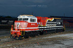 Norfolk Southern's latest commemorative locomotive honoring emergency first responders