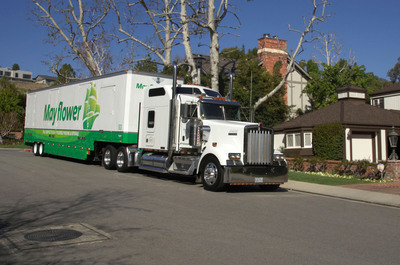 Mayflower, America's most recognized and trusted moving company, reports 18.9 percent growth in residential moves January through April 2013.  (PRNewsFoto/Mayflower)