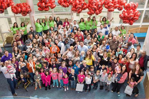 Texas Children's Hospital Celebrates Fetal Center Patient Reunion. Photo by Allen Kramer for Texas Children's Hospital. (PRNewsFoto/Texas Children's Hospital)