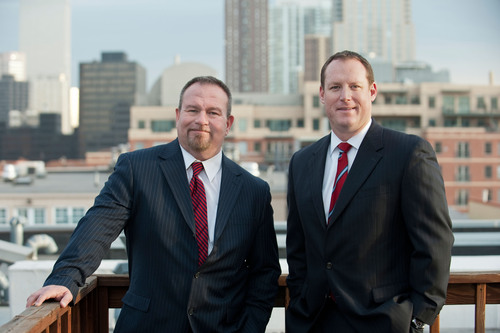 Ben Gilliam and Jon Treter named Managing Principals of Coldwell Banker Commercial Alliance's Denver office.  (PRNewsFoto/Coldwell Banker Commercial Alliance)