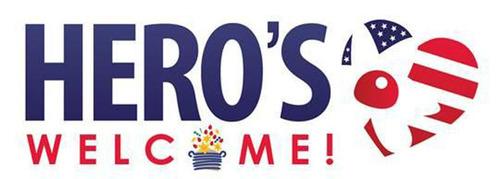 Edible Arrangements Hero's Welcome logo. (PRNewsFoto/Edible Arrangements) (PRNewsFoto/EDIBLE ARRANGEMENTS)