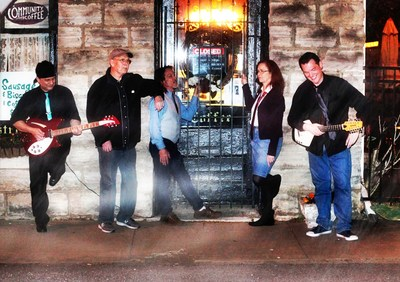 Incognito Cartel (L-R): Tom Templeman, Steve Holland, Don Gaylord, Terri Templeman, Steve Rempis