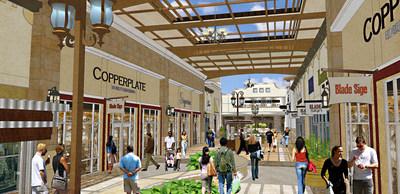 Tanger Outlets Fort Worth Rendering 2
