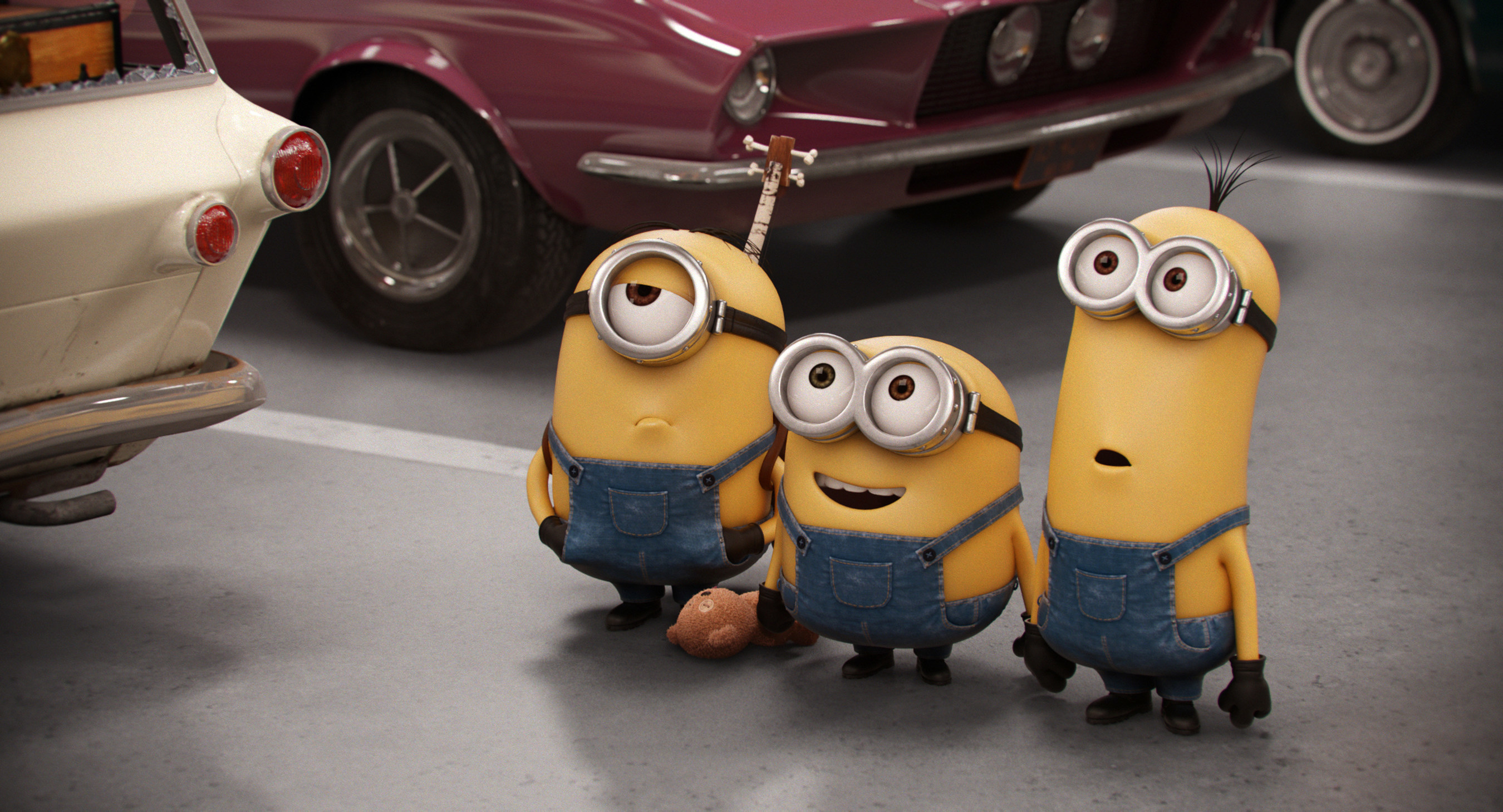 'Minions' Take Miami At Homestead-Miami Speedway During Ford Championship Weekend