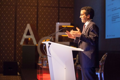 Adam Said, founder and Executive Director of ACE & Company at the Global Investment Forum 2016 in Geneva. (PRNewsFoto/ACE & Company)